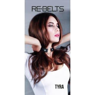 Чокер-кляп Tyra Rebelts, черный, OS
