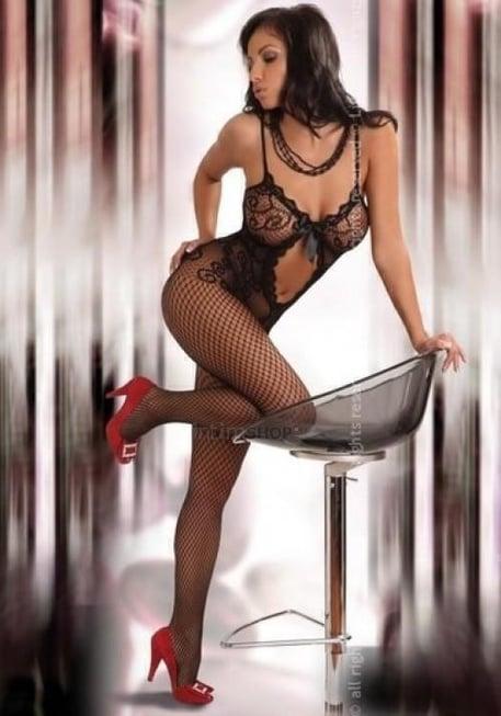 Чулок на Тело Livia Corsetti Magali Black черный XL/XXL