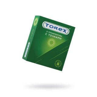 Презервативы точечные Torex №3