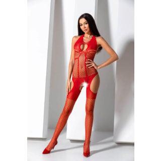 Боди Passion Erotic Line BS 079 Red, Красный, One size