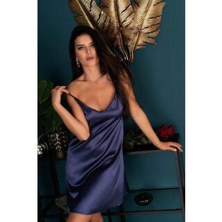 Сорочка LivCo Corsetti Fashion LC 90519 Mirdama koszula Navy Blue, Синий, XXL