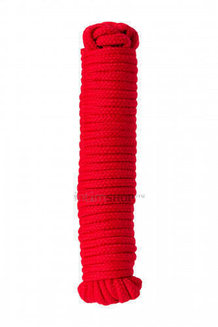 Веревка для бондажа Штучки-дрючки, красный