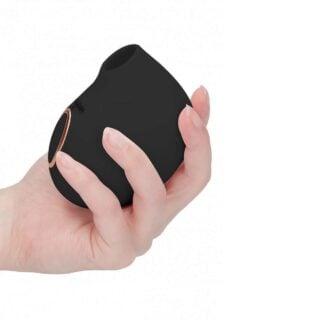 Стимулятор клитора Irresistible Seductive Black, черный
