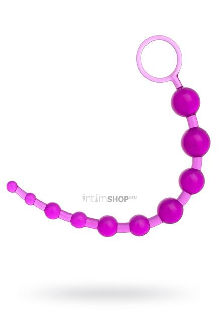 Анальная цепочка Toyfa, фиолетовый
