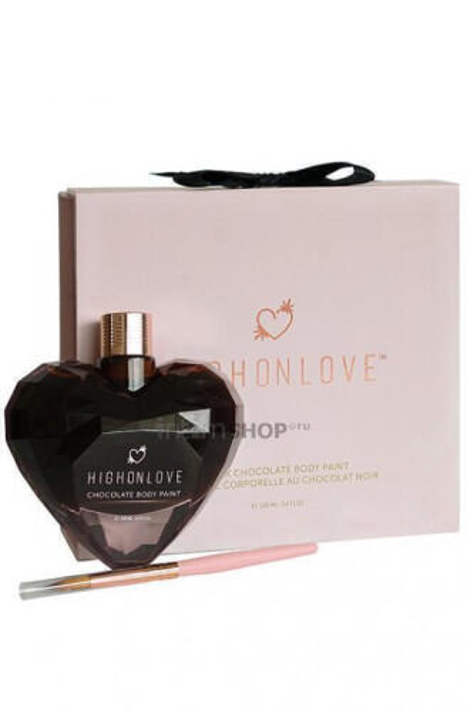 Краска для тела из темного шоколада High on Love