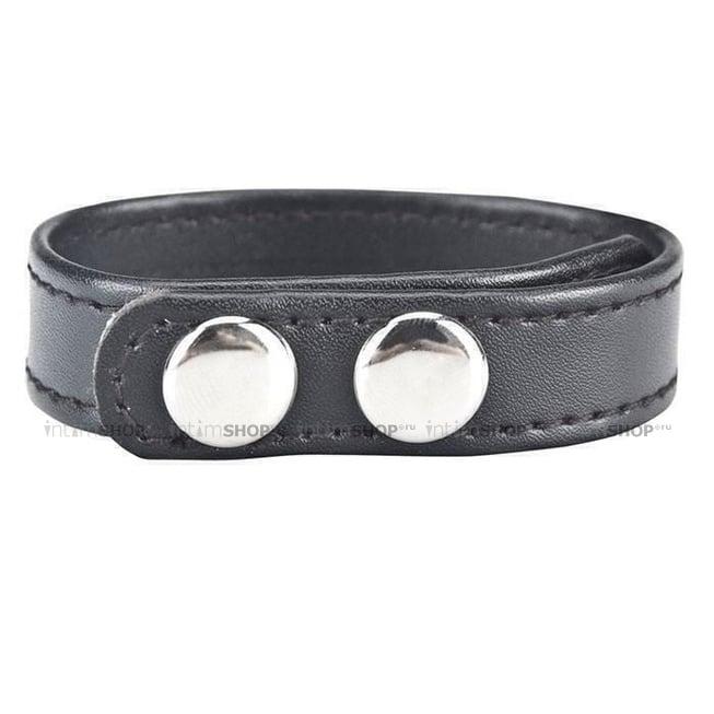 Кольцо на Пенис на клепках Snap Cock Ring 4-6 см