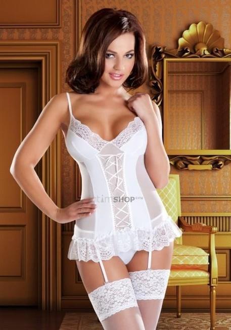 Корсаж и Трусики Avanua Marylin corset белые L/XL