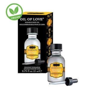 Возбуждающее масло-гель KamaSutra Oil of Love кокос и ананас, 22 мл