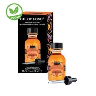 Возбуждающее масло-гель KamaSutra Oil of Love тропическое манго, 22 мл