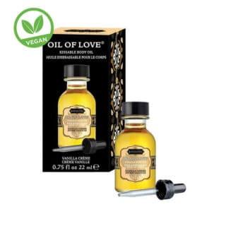 Возбуждающее масло-гель KamaSutra Oil of Love ванильный крем, 22 мл