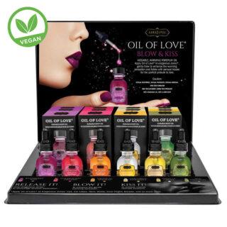 Набор косметических масел Oil of Love 6 ароматов х 2 шт по 22 мл KamaSutra