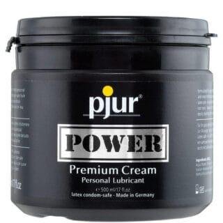Лубрикант для фистинга на водно-силиконовой основе Pjur Power, 500 мл банка