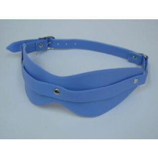 Виниловая маска Sitabella BDSM, голубая, OS