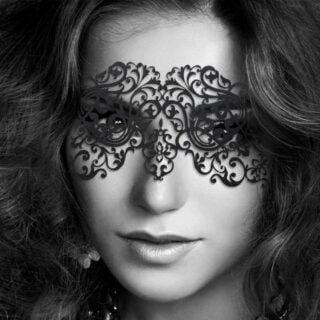 Виниловая маска Маскарадная Bijoux Indiscrets DALILA