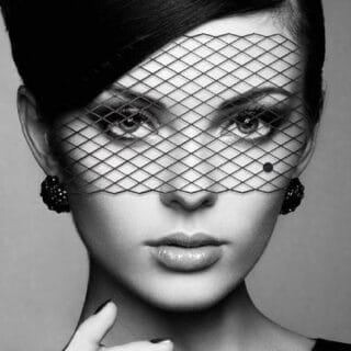 Виниловая маска Маскарадная Bijoux Indiscrets LOUISE