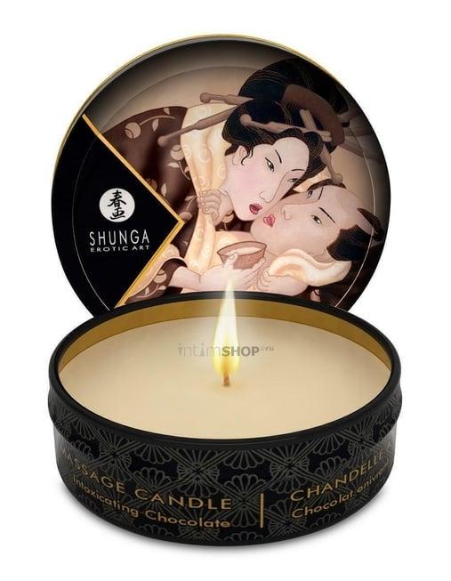 Свеча с массажным маслом Shunga Пьянящий шоколад 30 мл