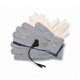 Перчатки с миостимуляцией Mystim Magic Gloves, серый