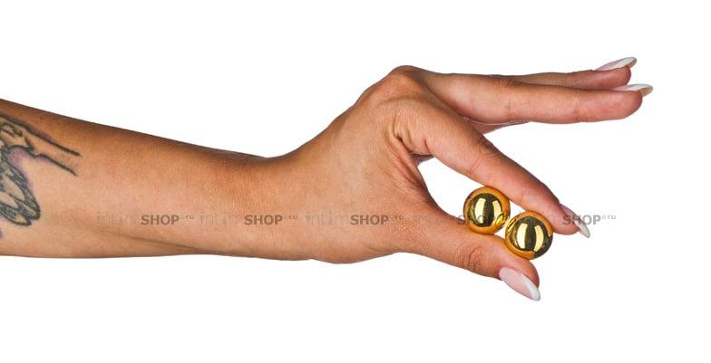 Массажные Шарики Pipedream FF Limited Edition Benwa Balls, золотистые