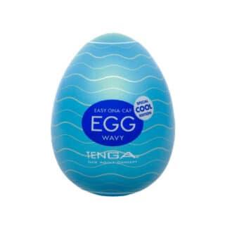 Мастурбатор Tenga Egg Wavy Special Cool Edition
