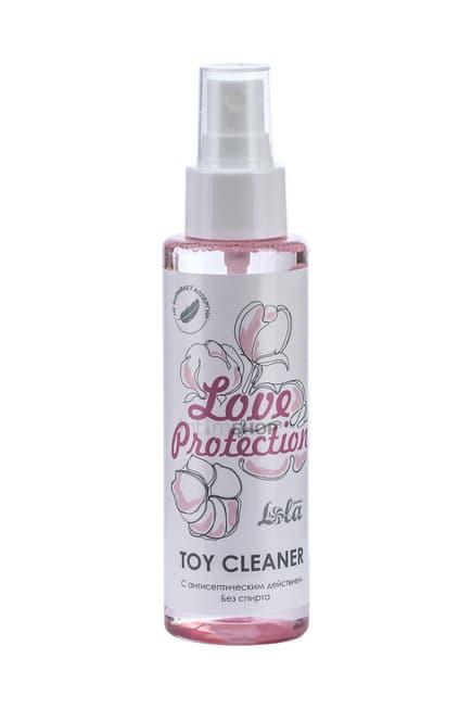 Очищающий спрей Toy cleaner Love Protection, 110 мл