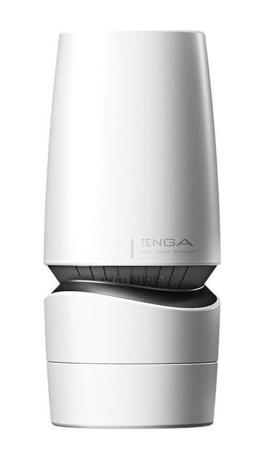 Мастурбатор с регулировкой давления Tenga Aero, белый
