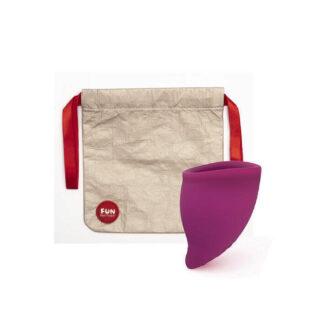 Менструальная чаша Fun Factory Fun Cup, Size B (30 мл), фиолетовый