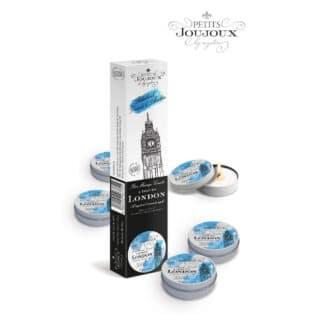 Массажные свечи Petits Joujoux London Refill Свежесть, 5 шт по 33 мл в наборе