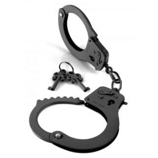 Наручники металлические Designer Cuffs, черный