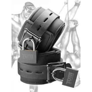 Наручники Tom of Finland Neoprene Wrist Cuffs, чёрный