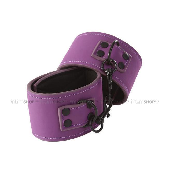 Наручники NS Novelties Lust Bondage Wrist Cuff фиолетовый