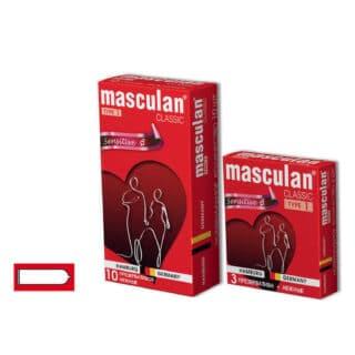 Презервативы Masculan Classic Sensitive классической формы №1, 10 шт