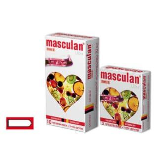 Презервативы Masculan Ultra Tutti Frutti №1, 10 шт