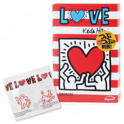 Презервативы Sagami LOVE Keith Haring 12's Pack Latex Condom - 1 уп (12 шт)