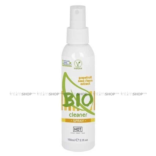 Спрей Hot Bio Cleaner Spray для очистки секс игрушек, 150 мл