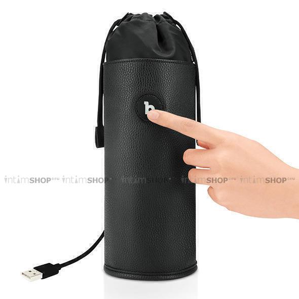 Стерилизатор для секс-игрушек b-Vibe Sterializer Pouch, чёрный