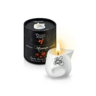 Свеча с массажным маслом Concorde Plaisirs Secrets Красное дерево, 80 мл