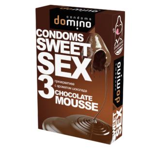 Презервативы Domino Sweet Sex Chocolate Mousse