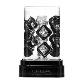 Мастурбатор Tenga Crysta Block, бесцветный