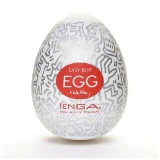 Мастурбатор Tenga Egg Keith Haring Party
