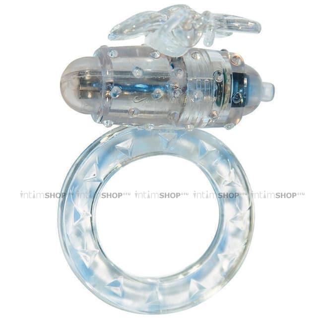 Эрекционное виброкольцо Toy Joy Flutter-Ring бесцветный