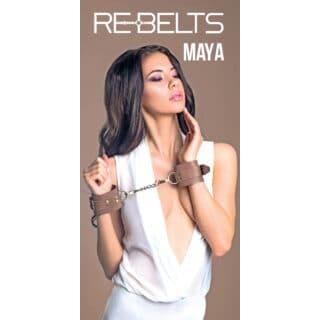 Наручники Maya Brown 7745-02rebelts
