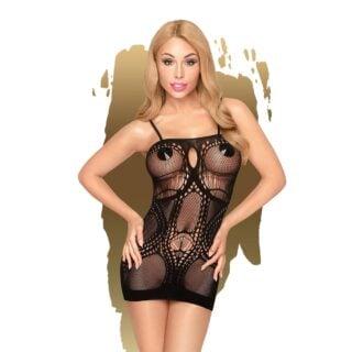 Мини-платье Penthouse Lingerie Above & Beyond, черный, XL