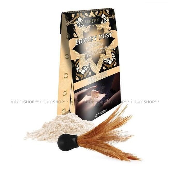 Ароматная пудра для тела KamaSutra Honey Dust Body Powder ванильный крем, 28 г