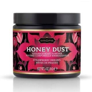 Ароматная пудра для тела KamaSutra Honey Dust Body Powder клубничные мечты, 170 г