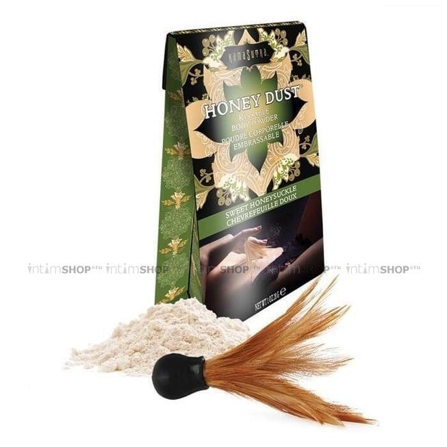 Ароматная пудра для тела KamaSutra Honey Dust Body Powder сладкая жимолость, 28 г