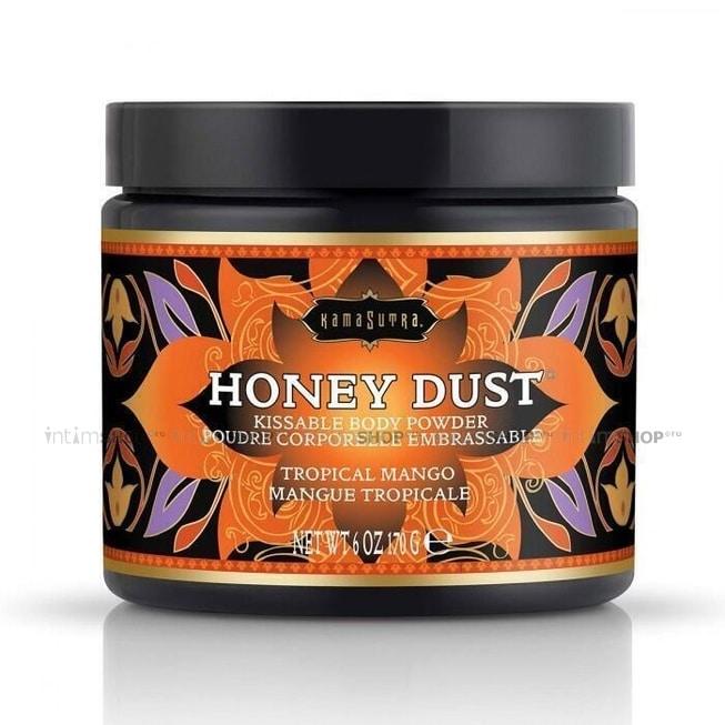 Ароматная пудра для тела KamaSutra Honey Dust Body Powder, тропическое манго, 170 г
