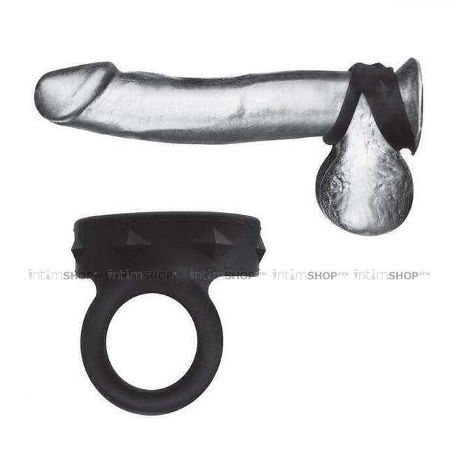 Двойное силиконовое кольцо для эрекции BlueLine