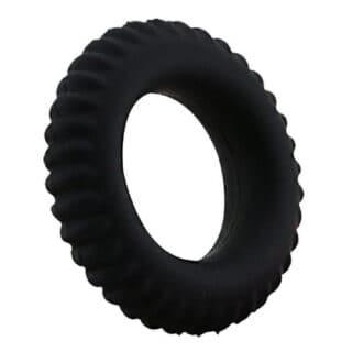 Эрекционное кольцо Baile Titan с ребрышками, черный