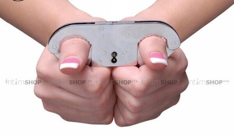 Фиксация на пальцы Pipedream Fetish Fantasy Thumb, серебристый