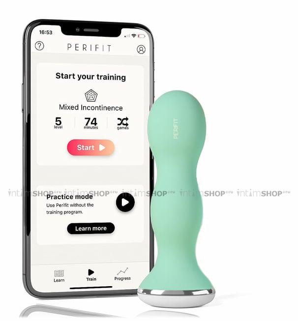 Тренажер вагинальных мышц Perifit зеленый